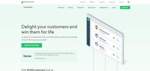 freshdesk customer service software