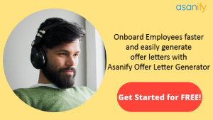 Offer Letter generator CTA